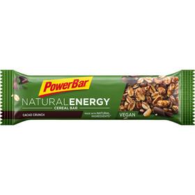 PowerBar Natural Energy Cereal Bar Box 24 x 40g Kakao-Crunch